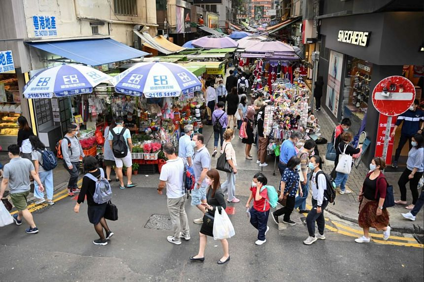"""Hong Kong says it takes a flexible """"suppress and lift"""" approach to virus restrictions."""