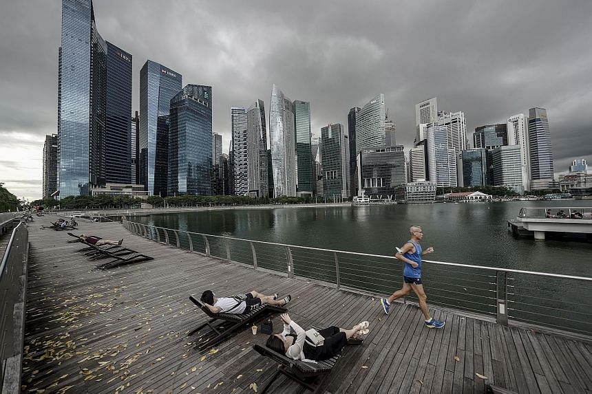 For some runners, switching routes between their neighbourhood, the city and even those close to nature will motivate them more. PHOTO: EPA-EFE