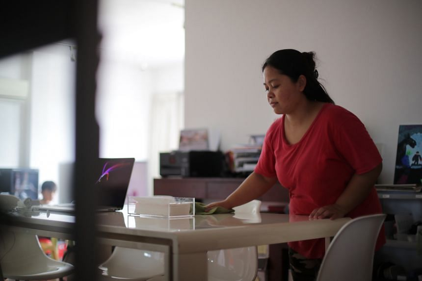 The Covid-19 pandemic has made it difficult for families to hire new foreign domestic workers.