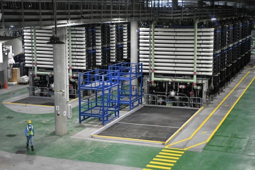 Singapore's fourth desalination plant in Marina East began commercial operations in June despite the pandemic.
