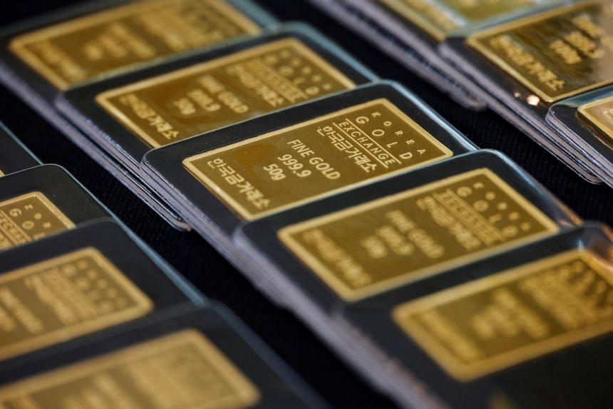 Gold is down 5.9 per cent so far in November.