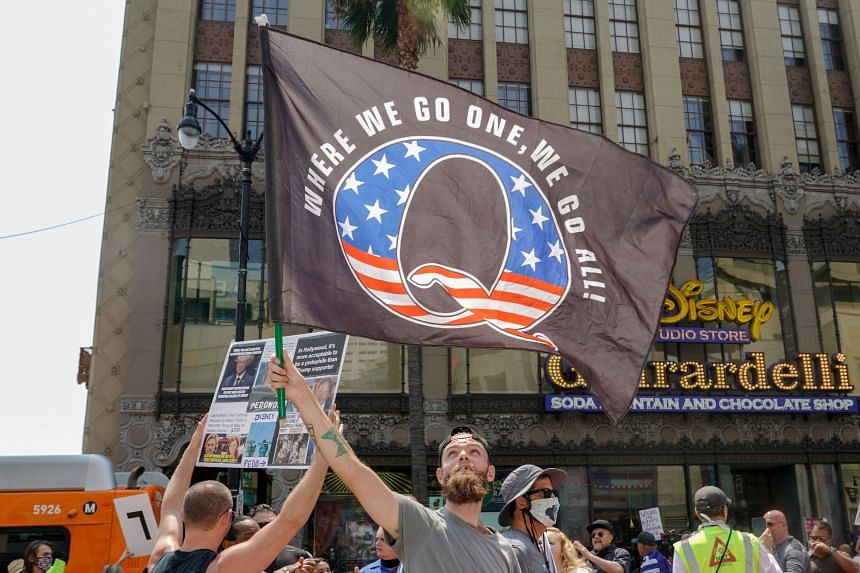 The QAnon movement is gaining popularity across the world, from Europe to Brazil.