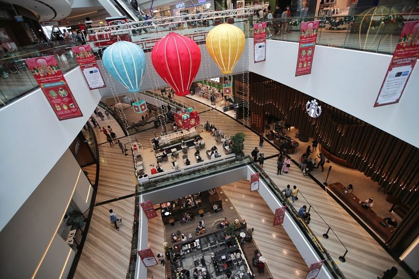 Retail sales at Changi Airport's terminals have plunged 74 per cent this year.