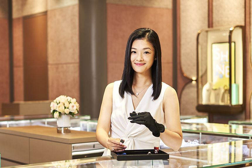Ms Vicky Toh joined SK Jewellery Group at the age of 18, and has worked her way up, with her flair for sales, to area manager overseeing operations for seven stores across Singapore.