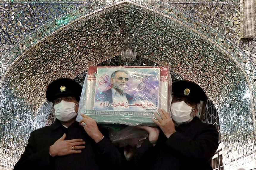 Funeral in Iran for murdered nuclear scientist
