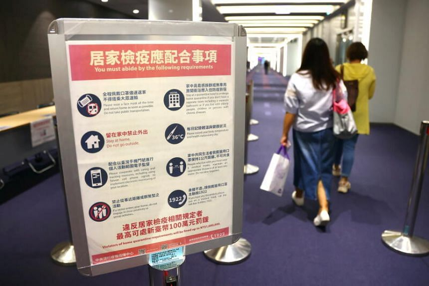 Taiwan is anticipating a new wave of infections, and hopes the new rule will help to curb the virus' spread.
