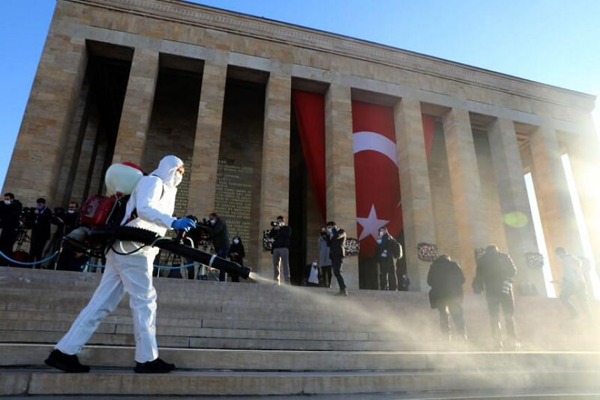 Turkey introduced tighter measures a week ago, but it has done little to halt a remorseless rise in cases and fatalities.