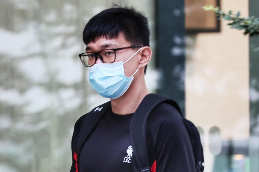 Tay Yi Hui was sentenced to two months' jail after he pleaded guilty to one count of sexual exploitation of a young person.
