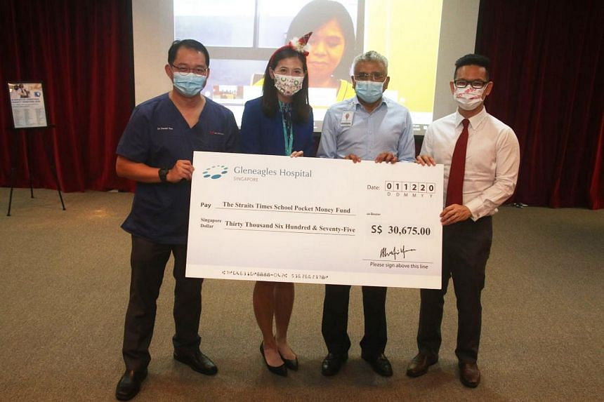 This is the second year in a row Gleneagles is raising funds for The Straits Times School Pocket Money Fund.