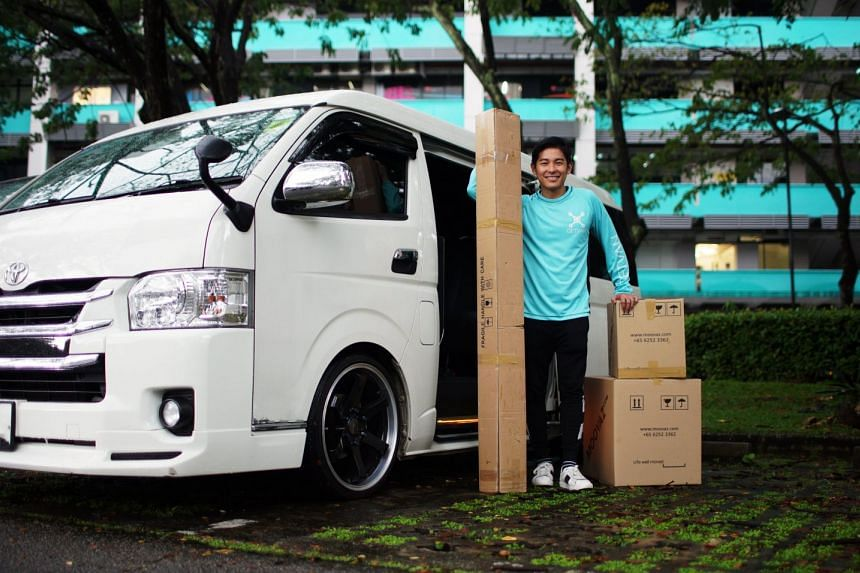 Mr James Neo, founder and CEO of GetVan, an on-demand van rental service. PHOTO: GETVAN