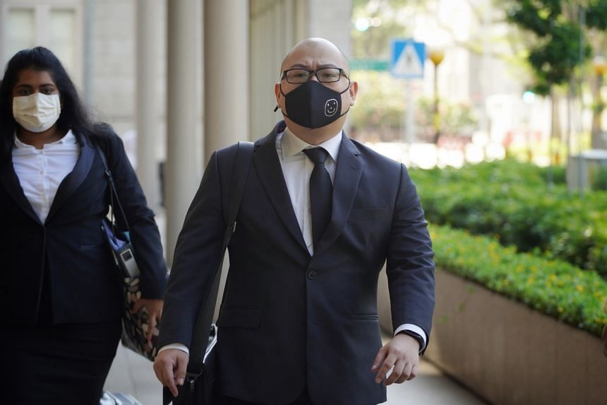 The Online Citizen editor Terry Xu arriving at the High Court on Nov 30, 2020.