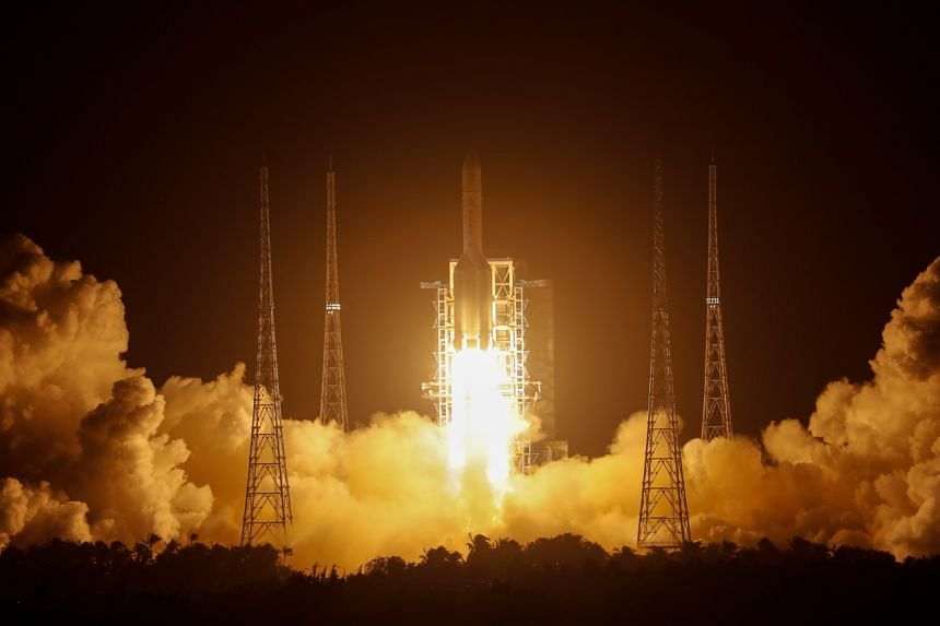 China launched its Chang'e-5 probe on Nov 24, 2020.