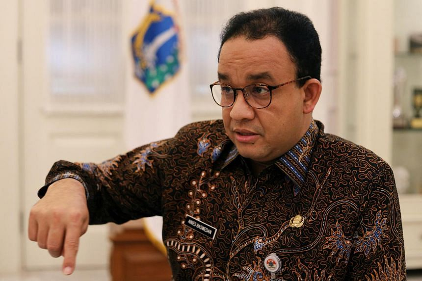 Mr Anies Baswedan said he will self-isolate at his official residence, but will work and chair meetings virtually.