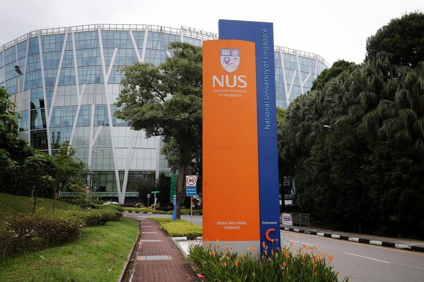 The National University of Singapore taken on Oct 22, 2020.