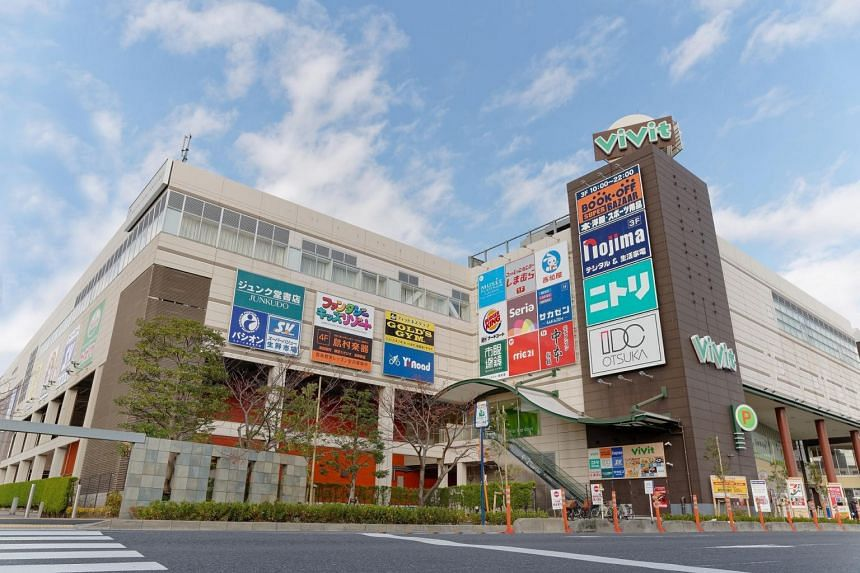 One of the divested properties in Japan is the Vivit Minami-Funabashi mall in Greater Tokyo.