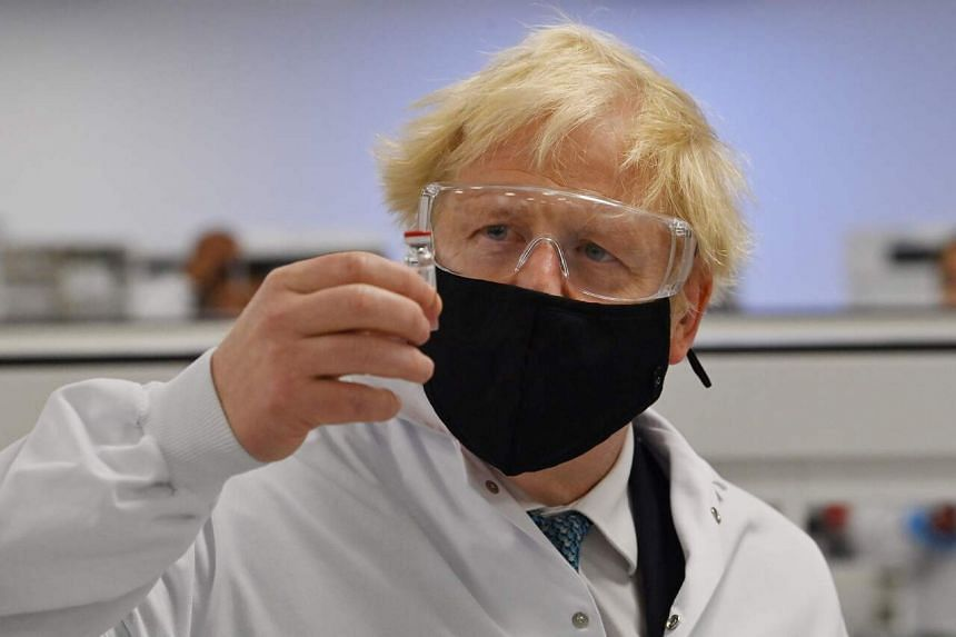 Mr Boris Johnson is seeking to convince Tory MPs to back his plans in a key vote on Tuesday.