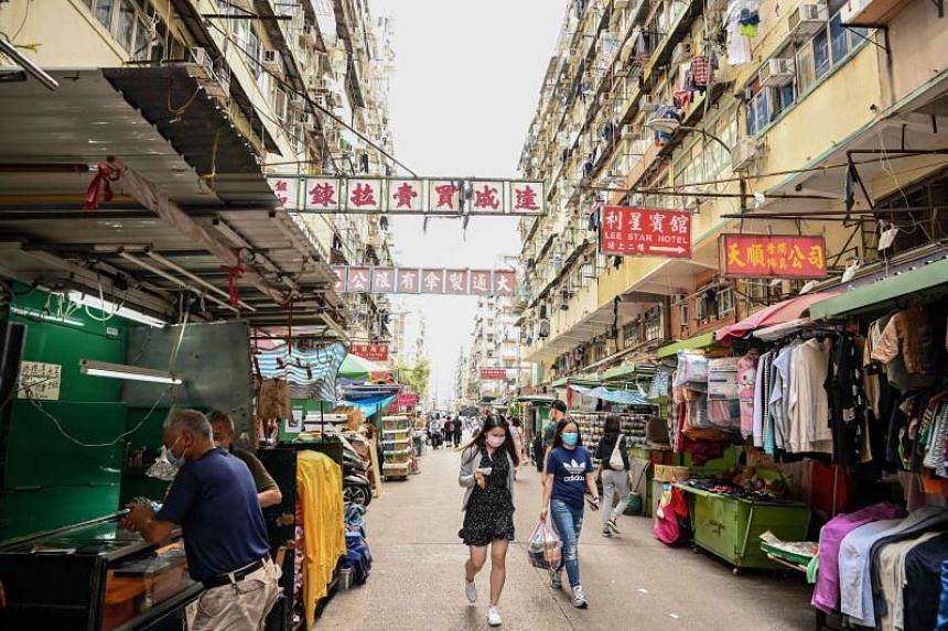 So far, Hong Kong has a total of more than 6,300 coronavirus cases, including 109 deaths.