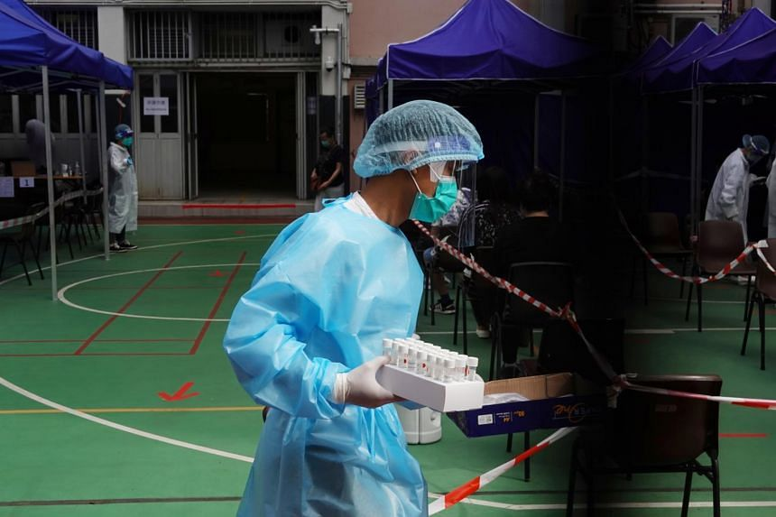 Hong Kong's health secretary said the government plans to buy two doses of Covid-19 vaccine for every resident.