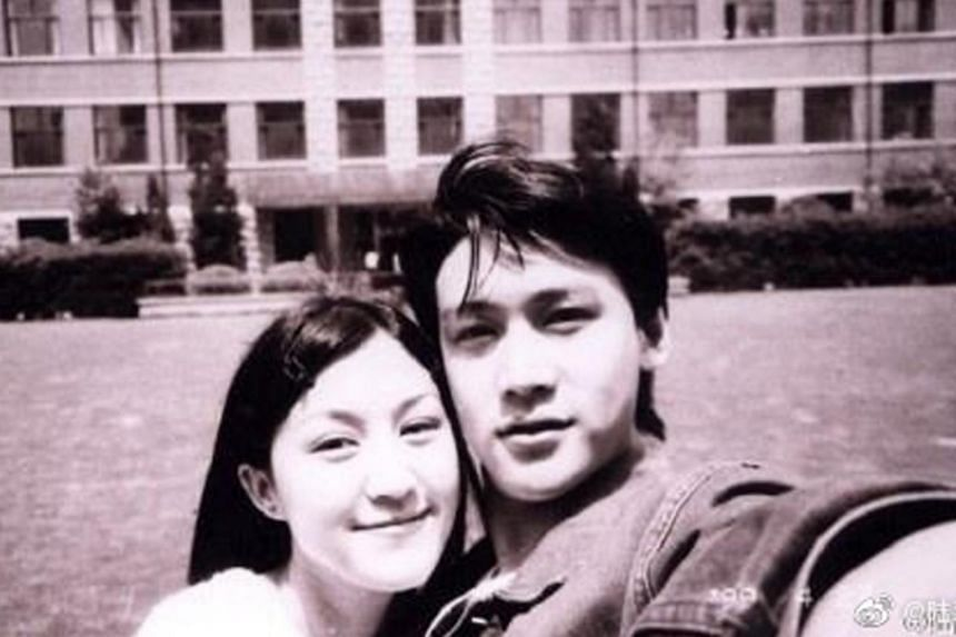 Celebrity couple Lu Yi and Bao Lei met each other at the Shanghai Theatre Academy.
