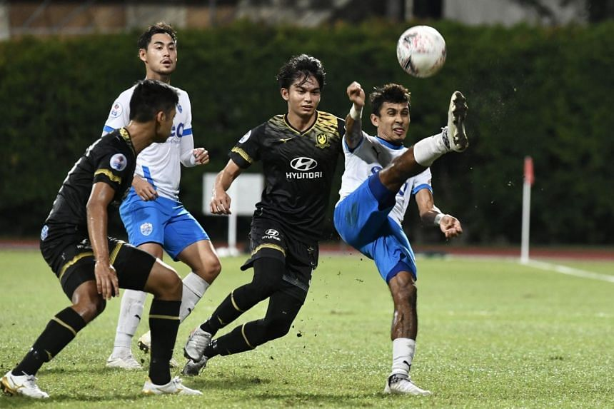 The draw meant the Tampines Rovers relinquished their position at the top of the table.