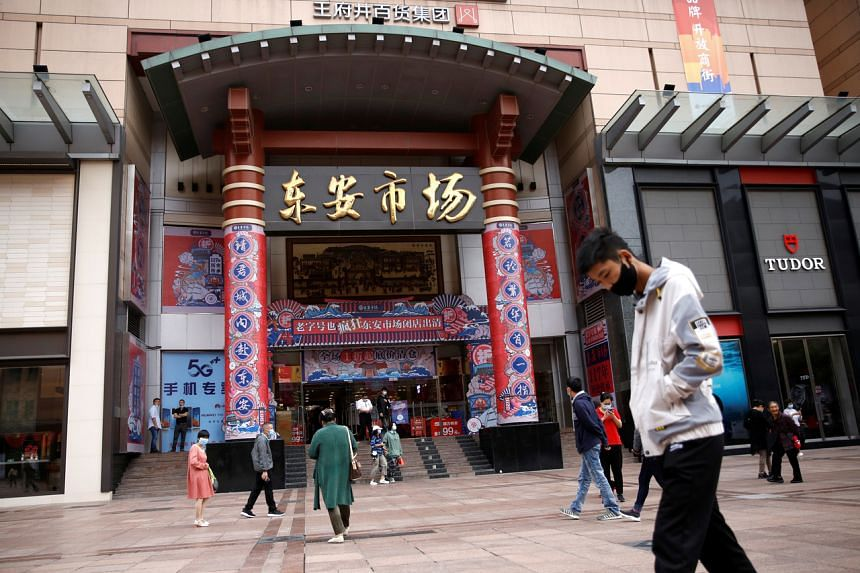 The services sector accounts for about 60 per cent of China's economy and half of the urban jobs.