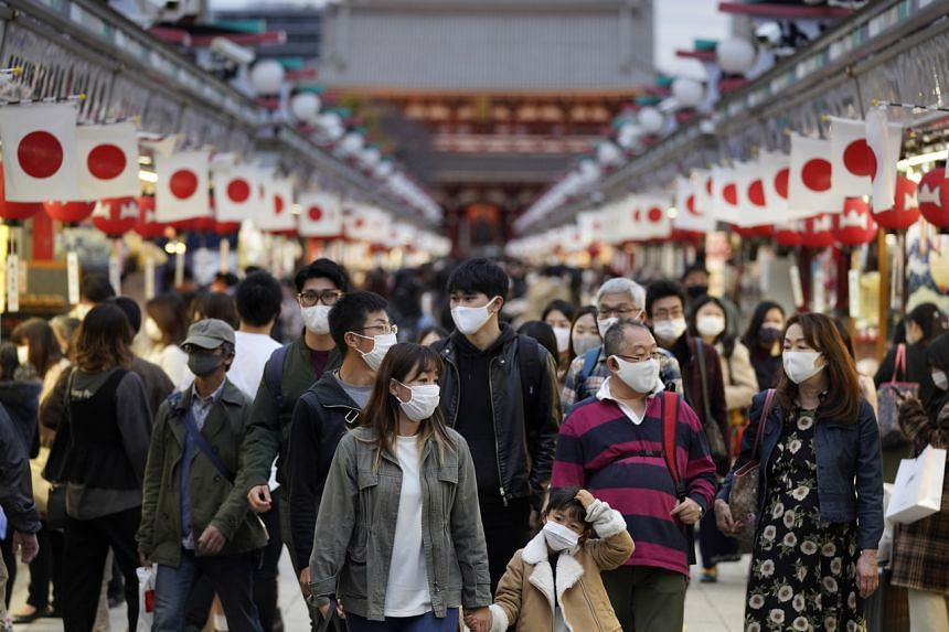 Japan has seen a total death toll of just over 2,000 people from the virus since the beginning of the pandemic.