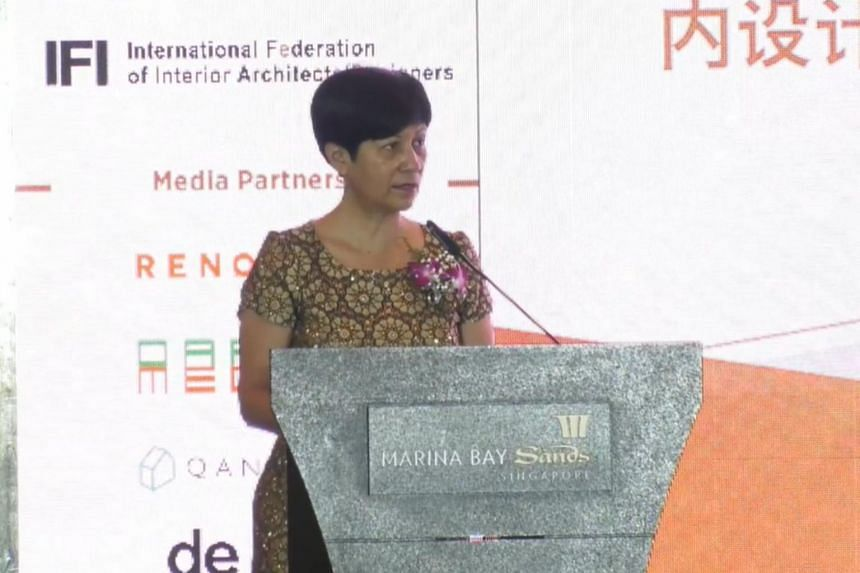 The programme was announced by Ms Indranee Rajah at the 4th Singapore Interior Design Awards, on Dec 3, 2020.