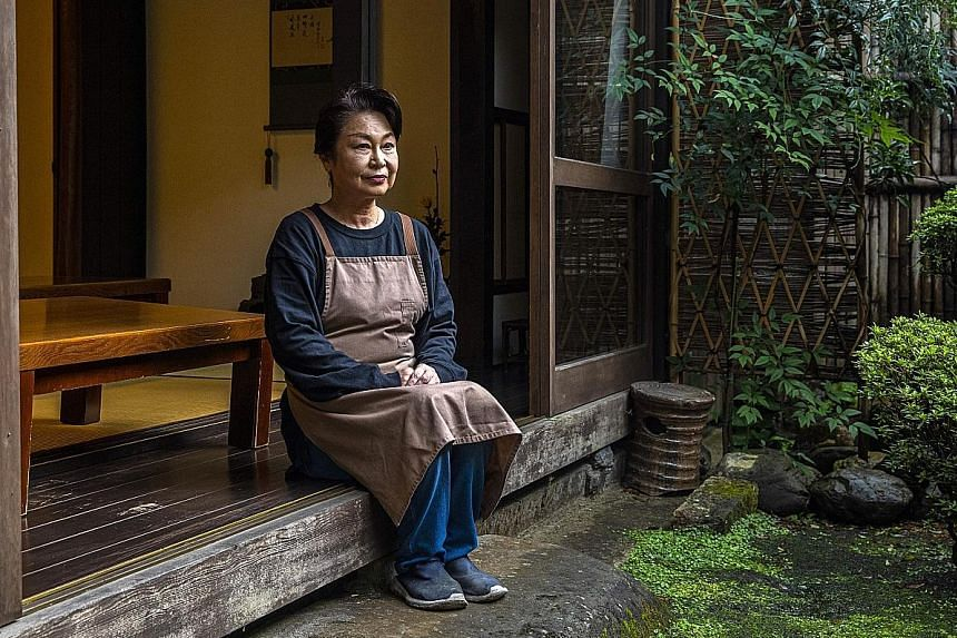 Ichiwa's operator Naomi Hasegawa is not concerned about her enterprise's finances amid Covid-19. Like many in Japan, the business takes the long view.