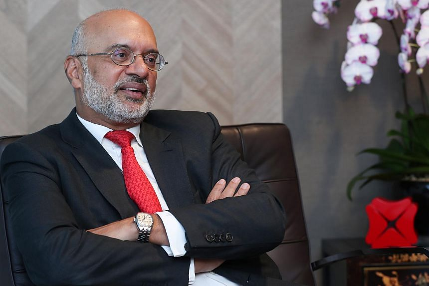 DBS CEO Piyush Gupta said he struggled with mental wellness for about a year in 2000, after his start-up venture failed.