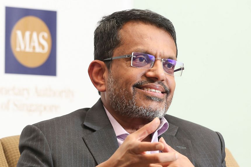 MR RAVI MENON, managing director of the Monetary Authority of Singapore, on green financing.