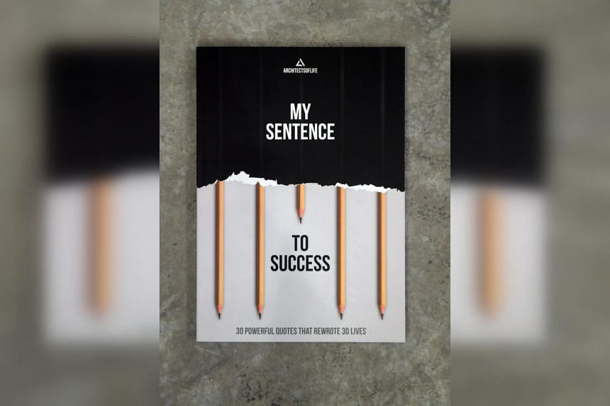 The book highlights particular sentences that have helped the 30 ex-offenders in their journeys of transformation and rehabilitation.