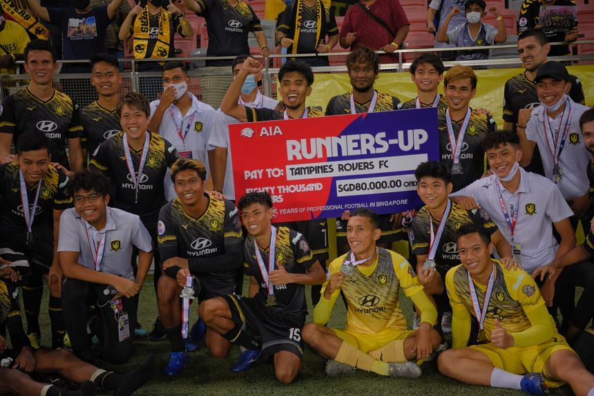 Tampines Rovers finished second in the Singapore Premier League this season.