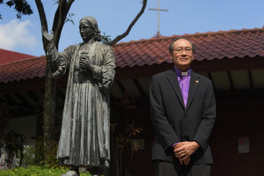 Bishop Gordon Wong will oversee 46 Methodist churches, with more than 44,000 members.