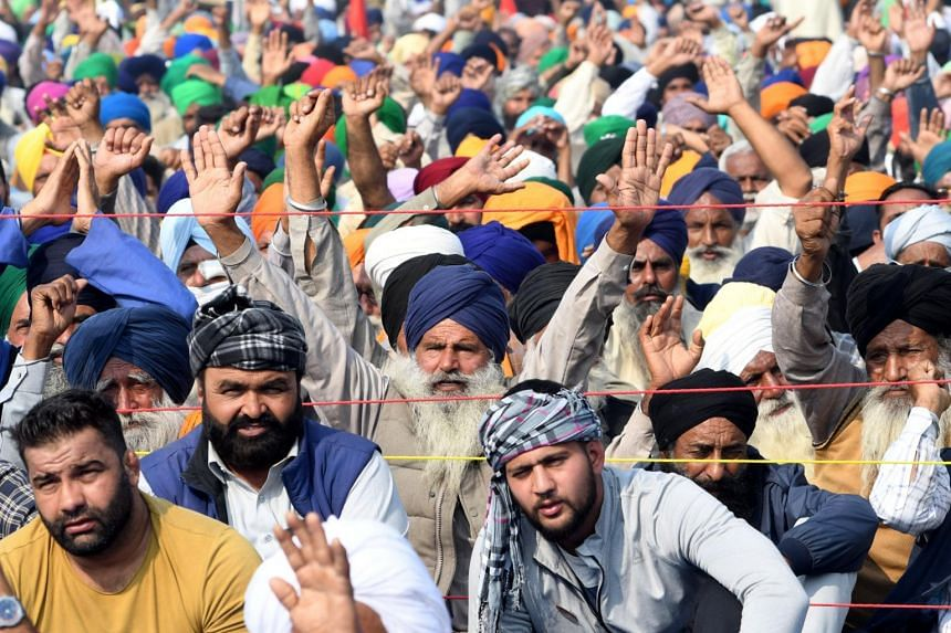 The farmers want PM Narendra Modi to repeal three laws passed in September.