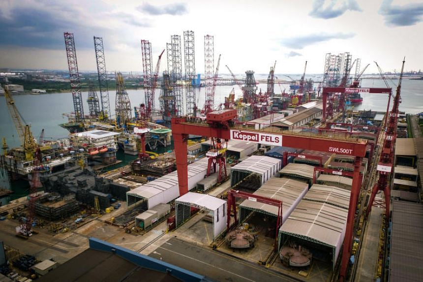 Keppel Fels' contract with Awilco Drilling was for the building of a mid-water drilling rig.
