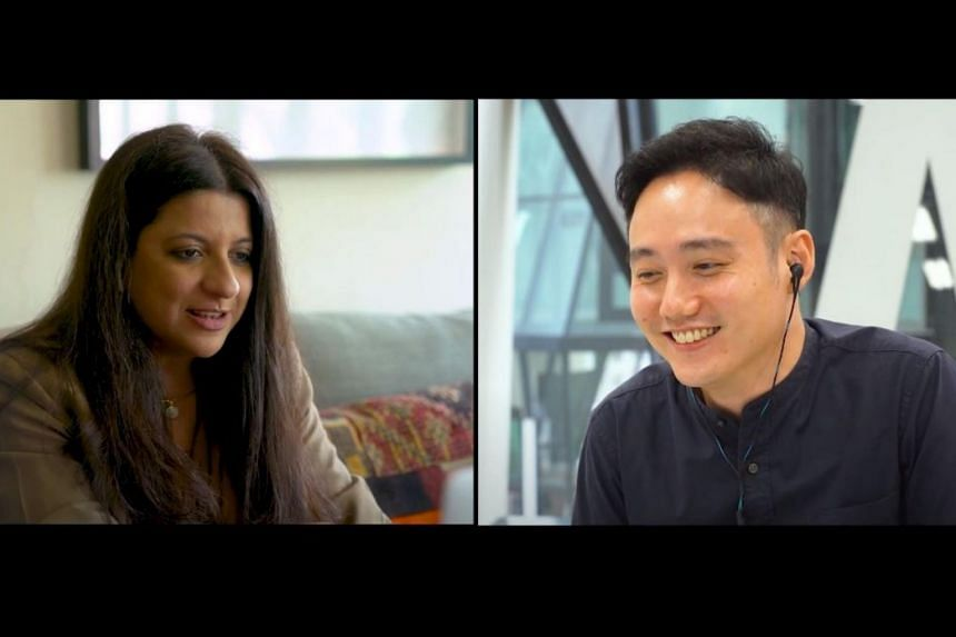Filmmaker Zoya Akhtar and director Boo Junfeng engage in an online conversation in the first part of a web series called MySingaporeConnect.