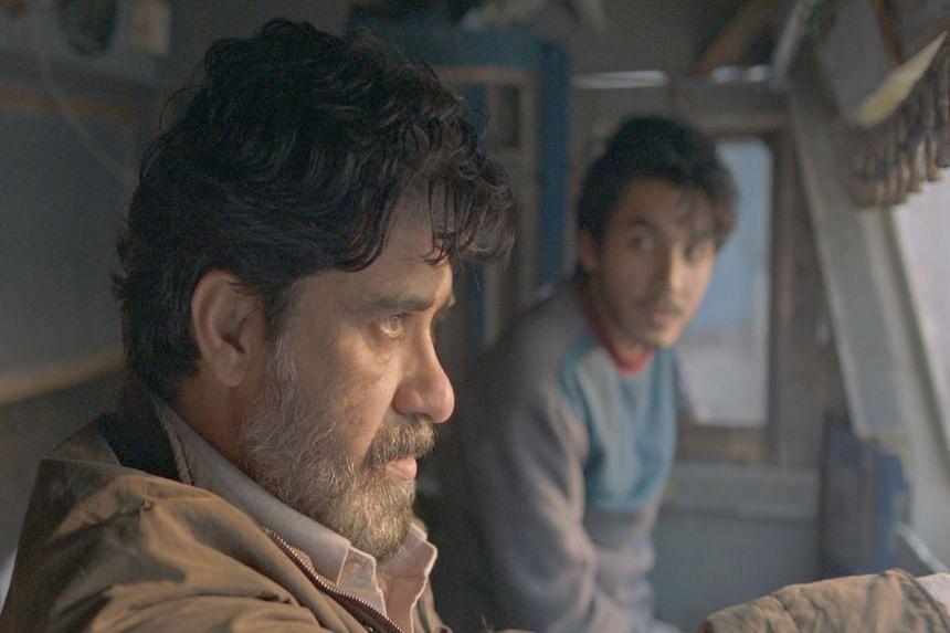 A still from Ivan Ayr's film Milestone.