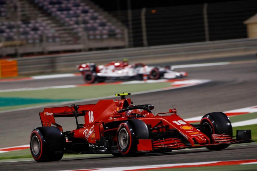 Ferrari's Charles Leclerc, who also collected two penalty points, admitted he was at fault after the race.
