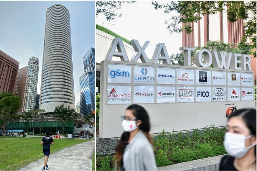 With the iconic AXA Tower in the Central Business District set to undergo redevelopment, anchor tenant AXA Insurance, which occupies five floors in the building, is making plans to relocate.