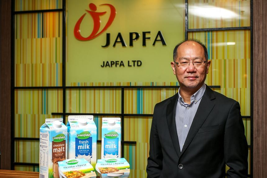 Mr Tan Yong Nang, chief executive officer of Japfa, The Greenfields dairy business is a vertically integrated business from dairy farming to branded dairy products in South-east Asia.