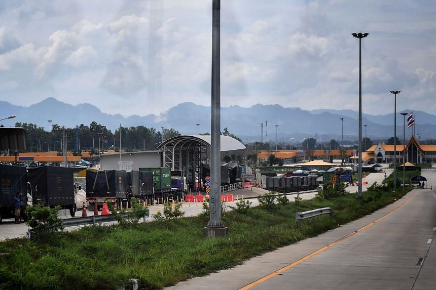 The Thailand-Myanmar border is one of the key challenges for authorities to curb infection risks.