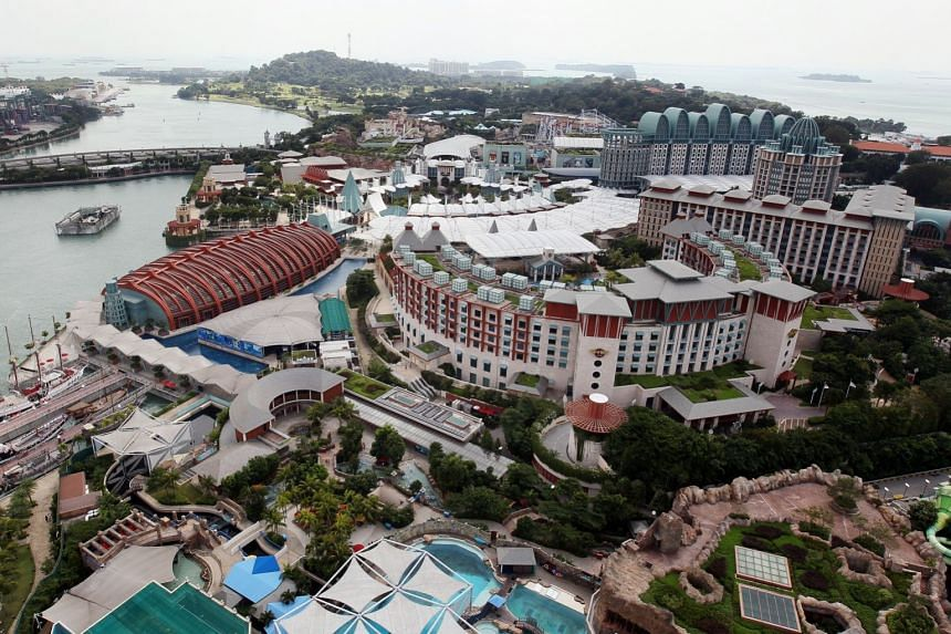 "Sentosa (above) could be part of a ""hub-and-spoke"" concept for the meeting."