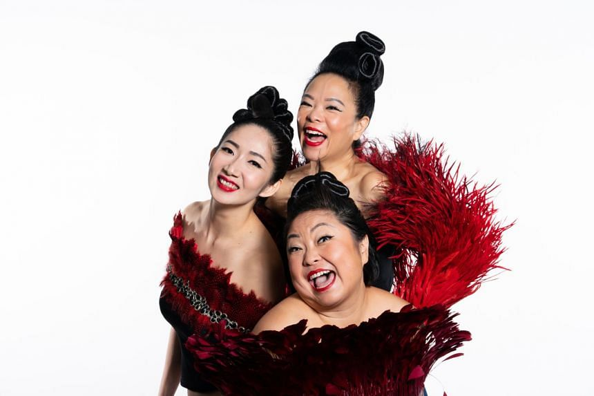 The Crazy Christmas concert, a Dream Academy tradition which will be held this year from Dec 15 to 20, features iconic trio The Dim Sum Dollies.
