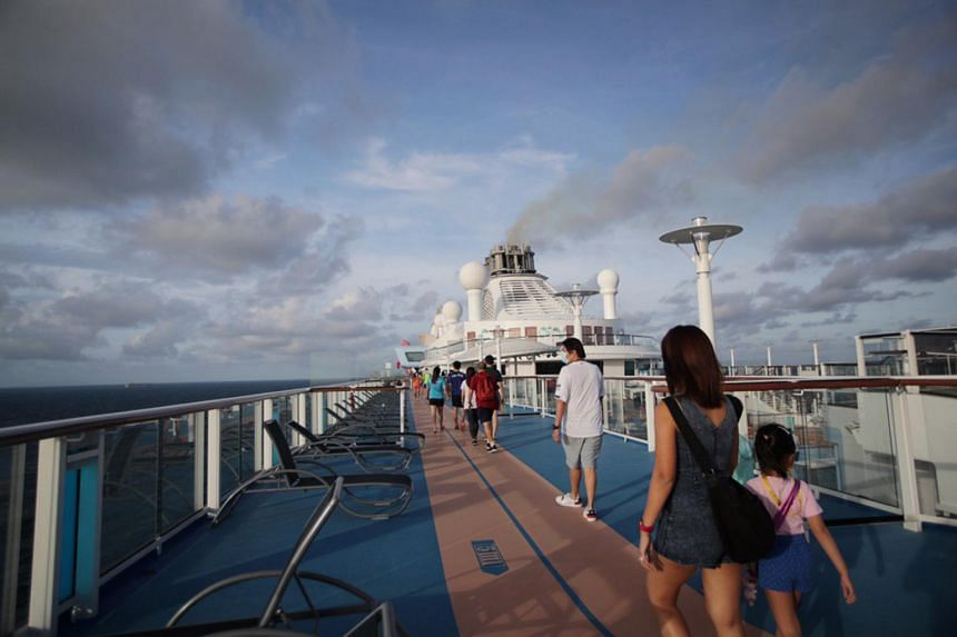 The Royal Caribbean ship turned back on day three of a four-day cruise to nowhere.