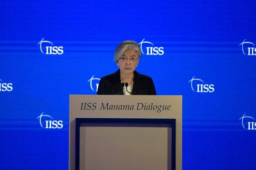 "Ms Kang Kyung-wha had said that it was ""hard to believe"" that North Korea had no coronavirus cases."