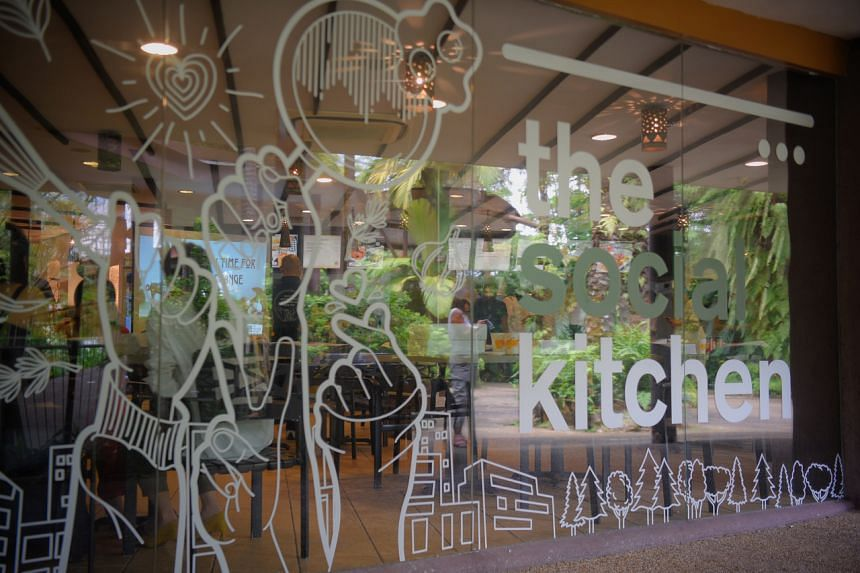 The Social Kitchen is a social enterprise that provides employment to disadvantaged individuals.