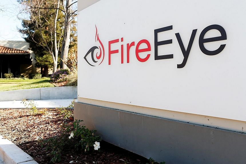 """FireEye's chief executive Kevin Mandia said the attackers were a """"nation with top-tier offensive capabilities"""", and that they made off with sensitive tools used by the company. PHOTO: REUTERS"""