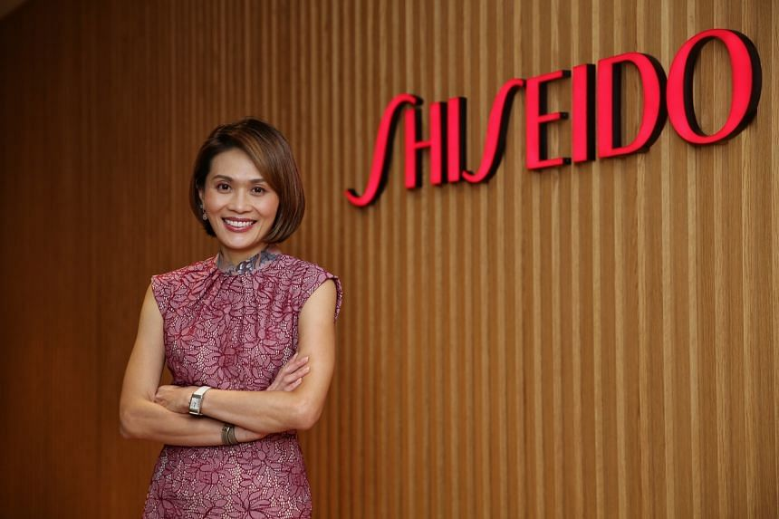 Ms Nicole Tan is Shiseido Asia-Pacific's first female president and chief executive, newly appointed in October.