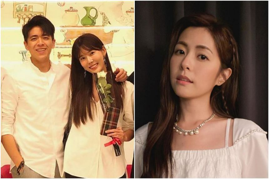 Lorene Jen (right) has reportedly been cosying up to Carrie Wong's boyfriend Boris Lin.