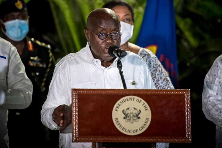 In the presidential race, Mr Akufo-Addo received 51.59 per cent of the vote.